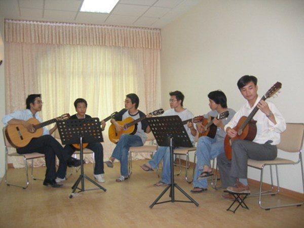 dạy organ guitar cơ bản đến nâng cao